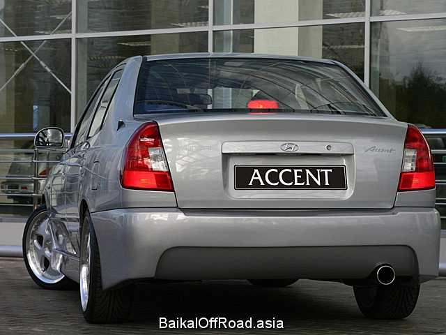 Hyundai Accent Sedan 1.5 i 16V GT (99Hp) (Механика)