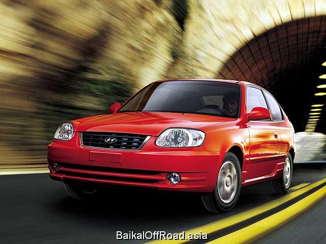 Hyundai Accent 1.5 i 16V (102Hp) (Механика)