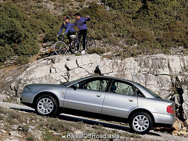 Audi A4 2.4 30V quattro (165Hp) (Механика)