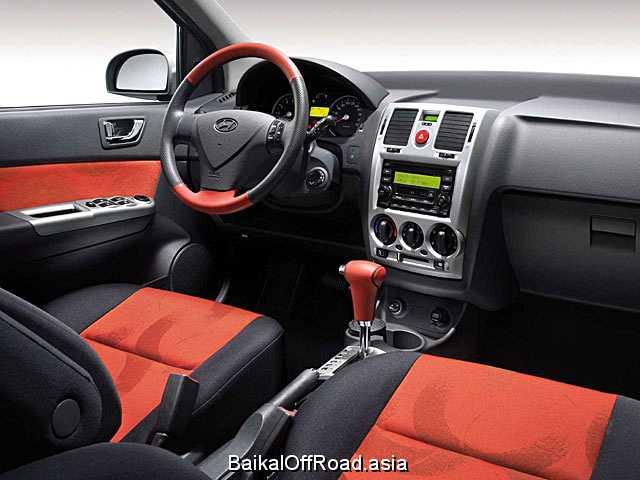 Hyundai Getz 1.6 DOHC 16V (106Hp) (Механика)