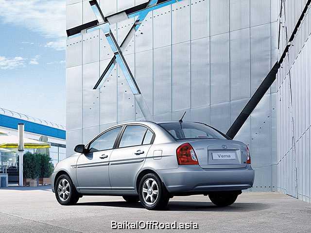 Hyundai Verna 1.4 (95Hp) (Автомат)