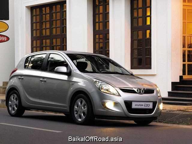 Hyundai i20 1.4 (100Hp) (Механика)