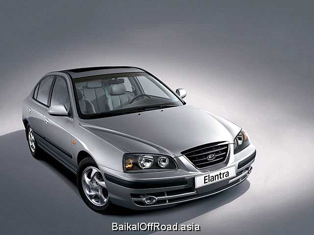 Hyundai Elantra 1.8 (132Hp) (Механика)