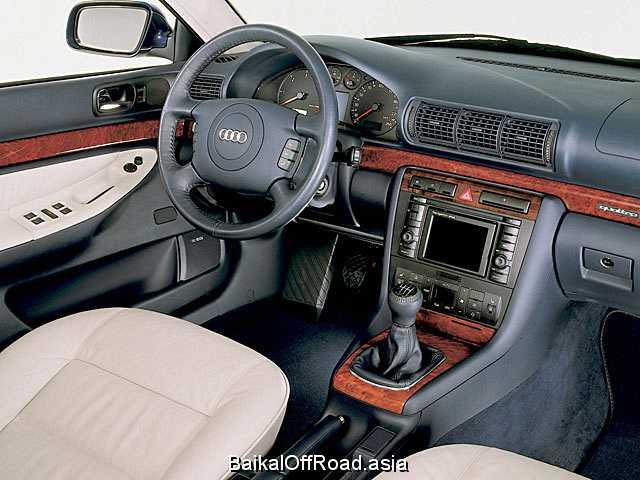 Audi A4 Avant 1.8 20V quattro (125Hp) (Механика)