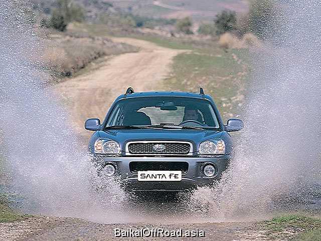 Hyundai Santa Fe 2.4 i 16V 4WD (150Hp) (Механика)