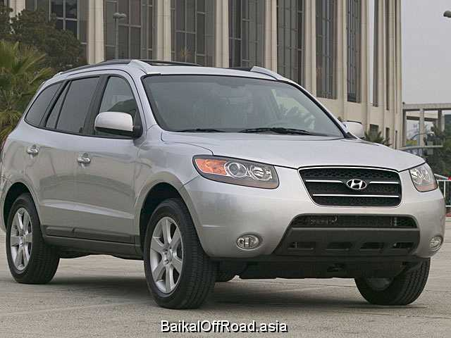 Hyundai Santa Fe 3.3 V6 4WD (242Hp) (Автомат)