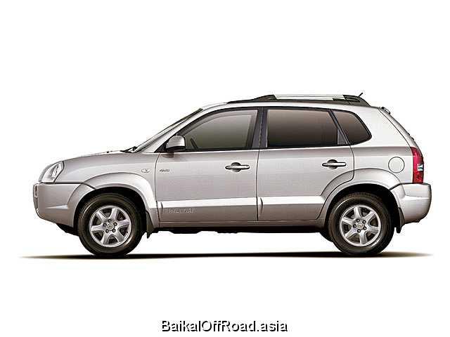 Hyundai Tucson 2.0 i 16V 4WD (140Hp) (Механика)