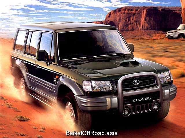 Hyundai Galloper 3.0 i V6 (161Hp) (Механика)