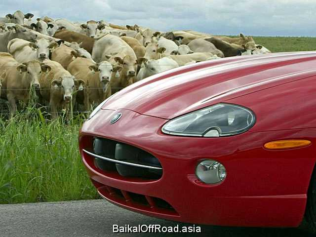 Jaguar XK XKR 4.0 i V8 32V (363Hp) (Автомат)