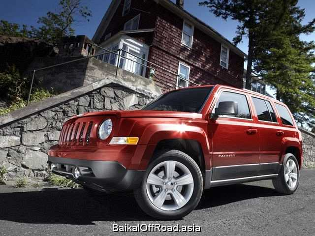 Jeep Patriot (facelift) 2.4 (170Hp) (Вариатор)