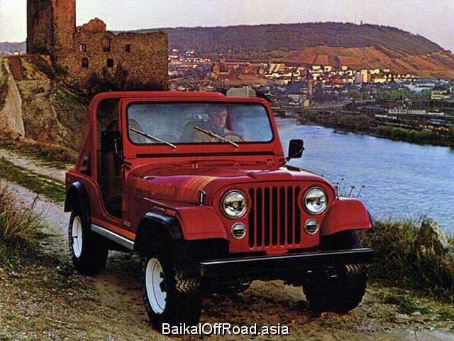 Jeep CJ5 - CJ8 3.8 (100Hp) (Механика)