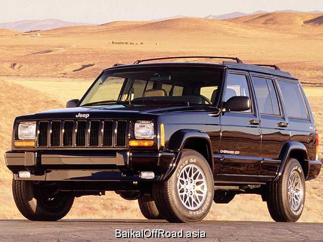 Jeep Cherokee 4.0 i 4WD (190Hp) (Механика)