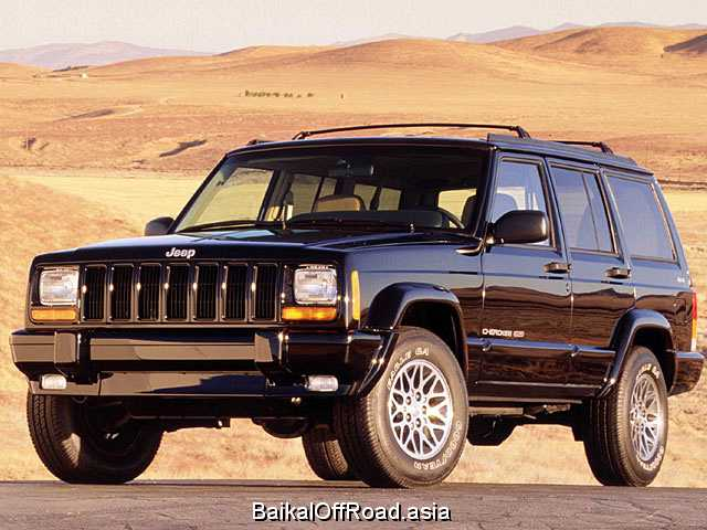 Jeep Cherokee 4.0 i Country (190Hp) (Механика)