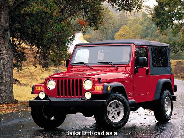 Jeep Wrangler 4.0 i (178Hp) (Механика)