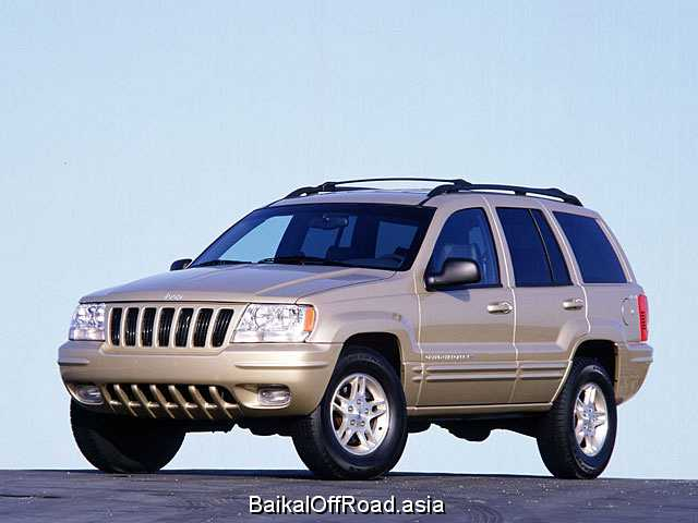Jeep Grand Cherokee 4.0 i (190Hp) (Автомат)
