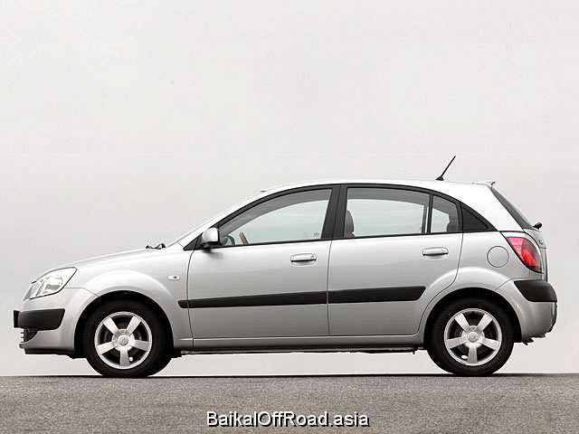 Kia Rio Hatchback 1.4 i 16V (97Hp) (Автомат)