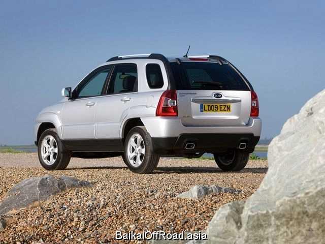 Kia Sportage (facelift) 2.0 4x4 (142Hp) (Механика)