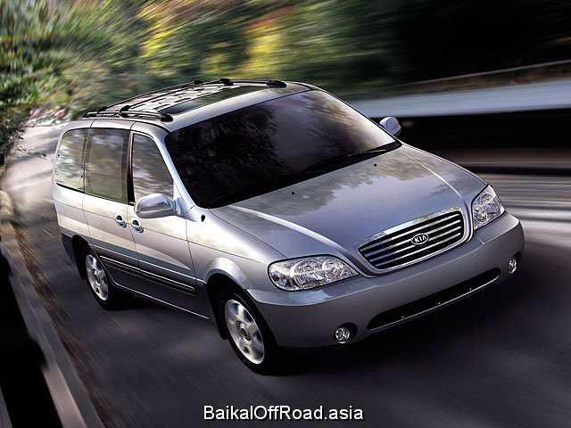 Kia Carnival 2.5 i V6 24V (165Hp) (Автомат)