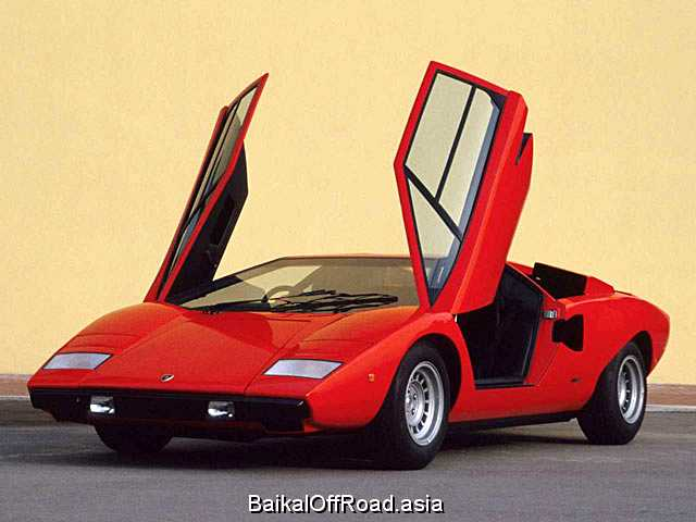 Lamborghini Countach LP500 S (375Hp) (Механика)
