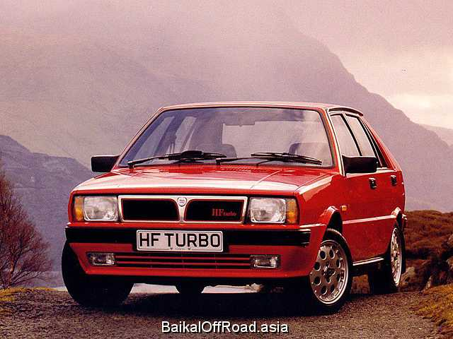 Lancia Delta 1.6 HF Turbo (131Hp) (Механика)