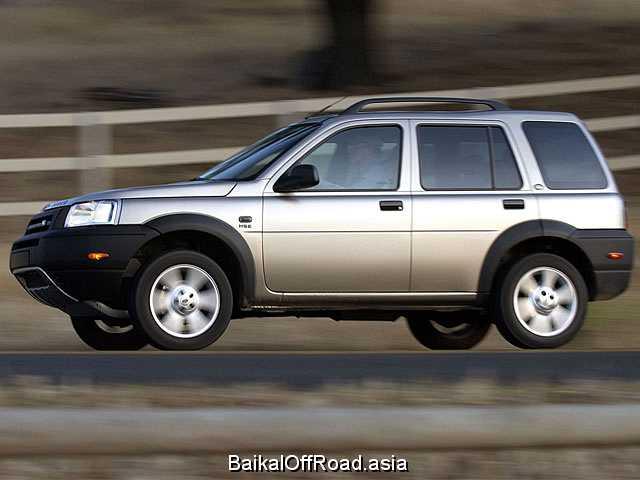 Land Rover Freelander 1.8 i 16V (120Hp) (Механика)
