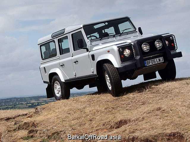 Land Rover Defender 110 3.5 V8 (136Hp) (Механика)