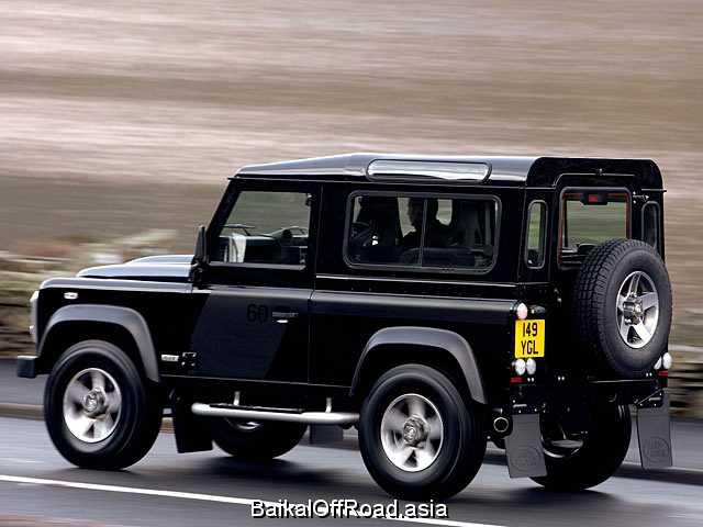 Land Rover Defender 90 2.4 TD (122Hp) (Автомат)