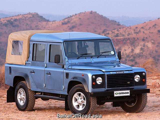 Land Rover Defender 130 2.4 TD (122Hp) (Автомат)