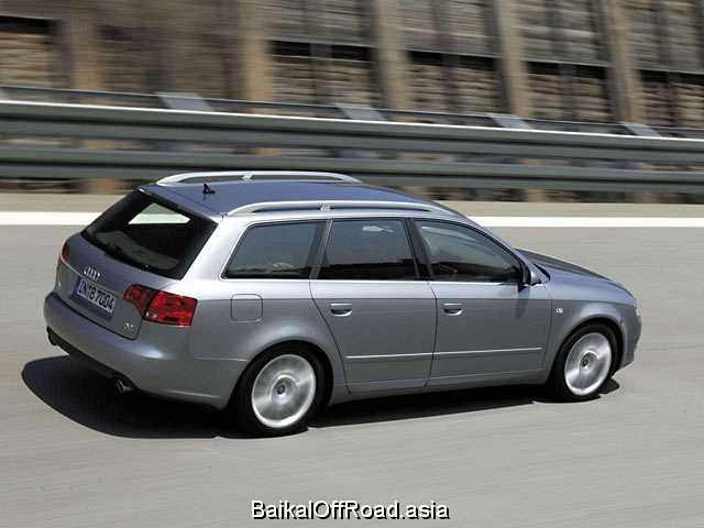 Audi A4 Avant 2.4 i V6 30V (170Hp) (Механика)