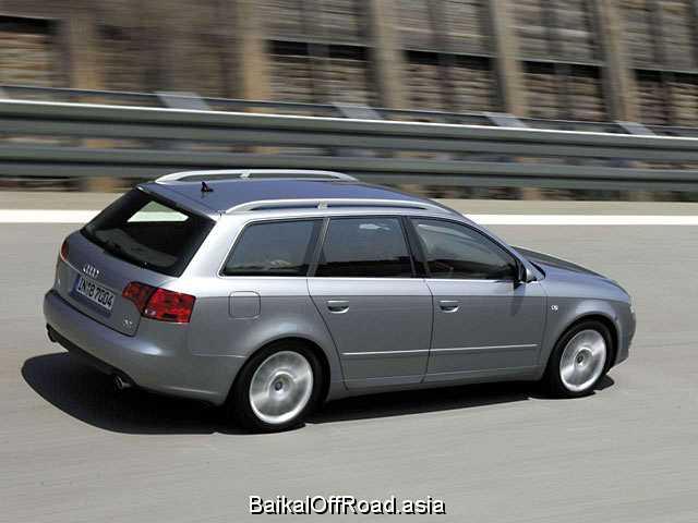 Audi A4 Avant 3.0 TDI quattro (204Hp) (Механика)