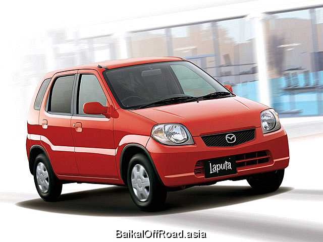 Mazda Laputa 0.7 i 12V 2WD Turbo (60Hp) (Автомат)
