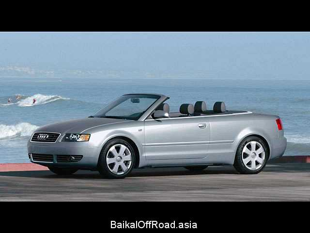 Audi A4 Cabriolet 1.8 T (163Hp) (Вариатор)
