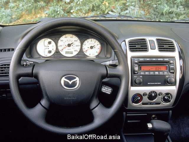 Mazda Protege 1.6 (98Hp) (Механика)