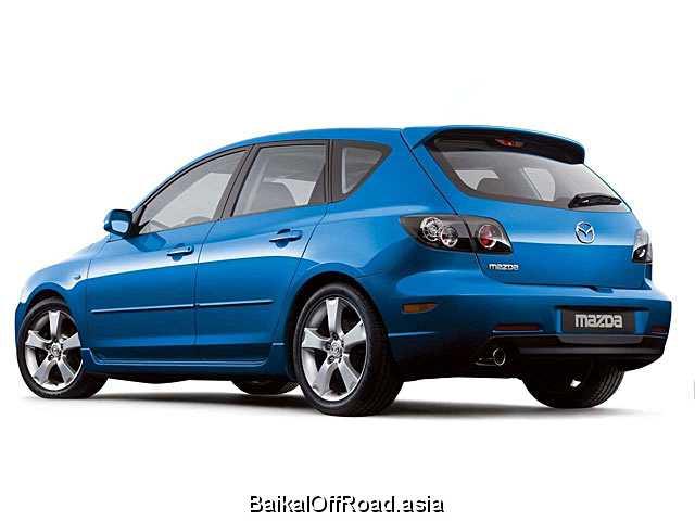 Mazda 3 Hatchback 1.6 TD (90Hp) (Механика)