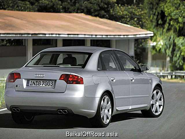 Audi S4 Cabriolet 4.2 i V8 40V quattro (344Hp) (Механика)
