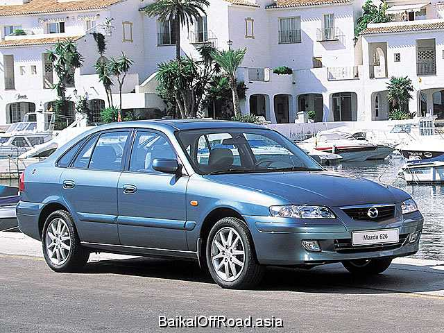 Mazda 626 1.9 (100Hp) (Механика)