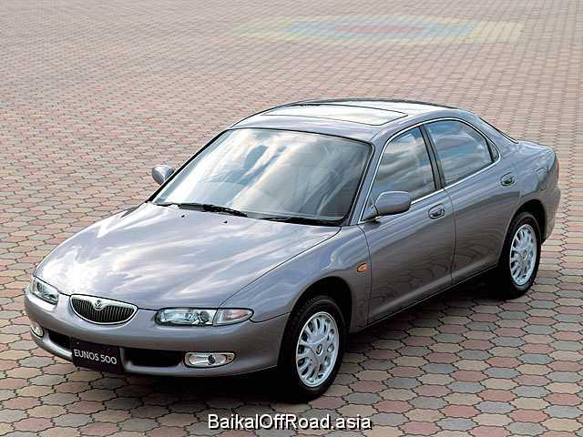 Mazda Eunos 500 2.0 i V6 24V (160Hp) (Механика)
