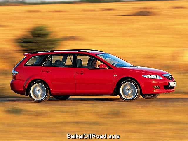 Mazda 6 Sport Wagon 2.3 i 16V 4WD (162Hp) (Автомат)