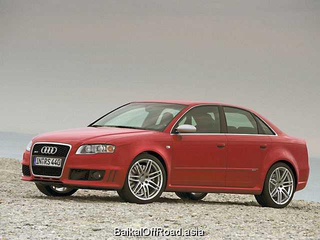 Audi RS4 Avant 4.2 i V8 32V FSI (420Hp) (Механика)