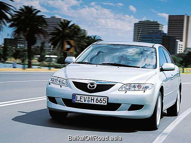 Mazda 6 2.3 16V (166Hp) (Автомат)