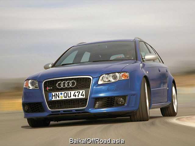 Audi RS4 Cabrio 4.2 i V8 32V FSI (420Hp) (Механика)