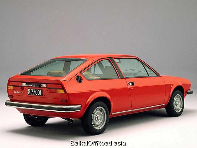 Alfa Romeo Alfasud Sprint 1.7 i.e. (105Hp) (Механика)