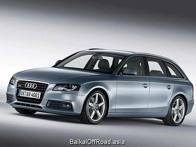 Audi A4 Avant 3.0 TDI quattro (240Hp) (Механика)