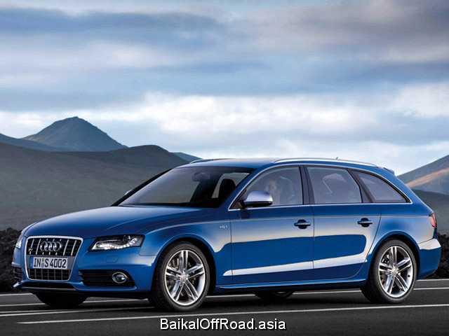 Audi S4 3.0 TFSI quattro (333Hp) (Механика)