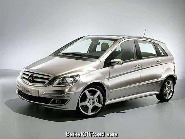 Mercedes-Benz B-Class B 200 Turbo (193Hp) (Механика)