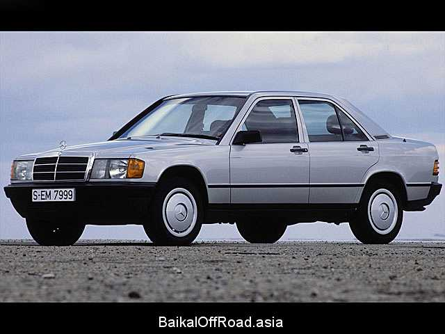 Mercedes-Benz 190 2.5 TD (126Hp) (Механика)