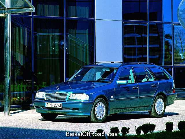 Mercedes-Benz C-Class T-model C 200 Kompressor (163Hp) (Механика)