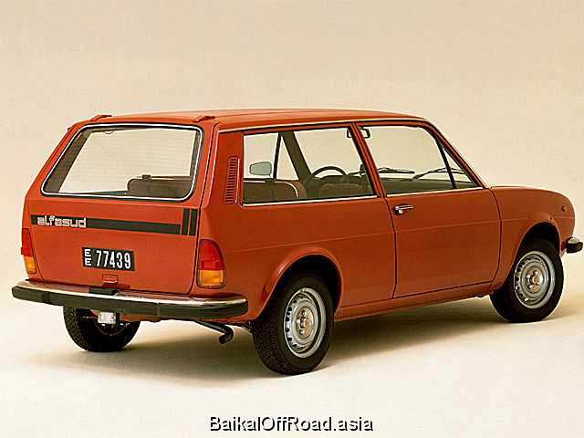 Alfa Romeo Alfasud Giardinetta 1.3 (69Hp) (Механика)