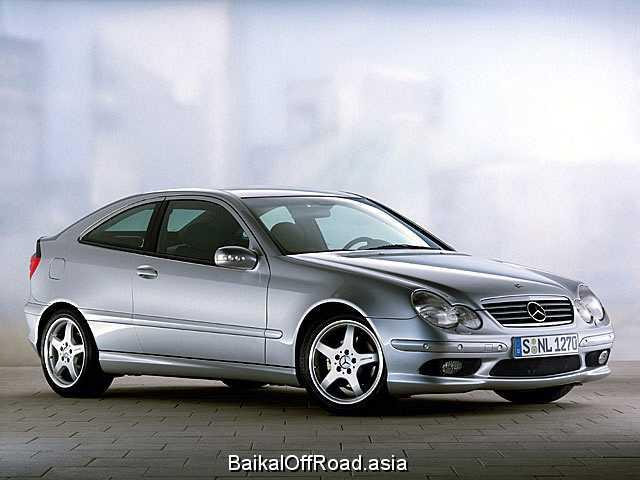 Mercedes-Benz C-Class Sport Coupe C 200 Kompressor (163Hp) (Механика)