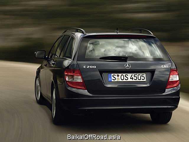 Mercedes-Benz C-Class T-model C 200 Kompressor (184Hp) (Автомат)